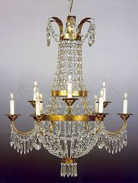 empire chandelier federal french empire opera basket crystal chandelier