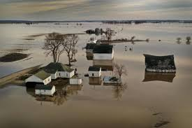 Image result for missouri river flooding pics 2019