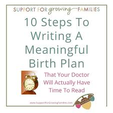 Birth Plan Images 10 Steps For Writing A Meaningful Birth Plan That Doctors