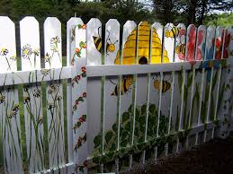 Painted Fences painted fencegracie and gavin said i should paint the bees 1984 by xevi.us