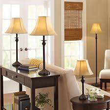 adorable bronze table lamps for living room of floor lamp set fabric shades lighting living