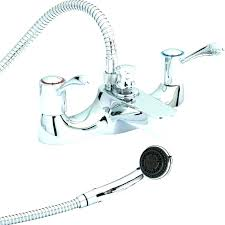 bathtub faucet hose attachment shower head full image for wall bracket