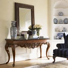 console table decor. Image Of: Entry Console Table Decor