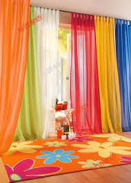 Bright coloured sheers for a playroom. Curtain IdeasCurtain ...