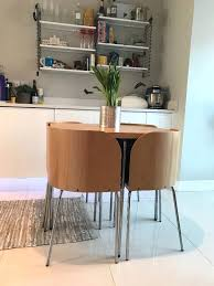 ikea small dining table fusion compact dining table 4 chairs oak effect with black fusion ikea small glass dining table