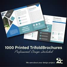 1000 Trifold Brochures Special Offer