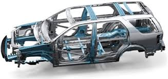 a car s frame is one of the most important safety features protecting the driver and pengers in an accident it is made from strong metal alloy acting as