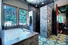 bathroom shower ideas without doors no custom showers design bathrooms of good fascinating