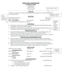 Skills Based Resume Simple Concise Resume Template Skills Based Resume Template Skills Based