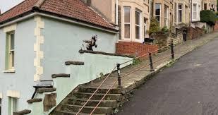 New Banksy art confirmed in Bristol's famous Vale Street - live reaction -  Bristol Live