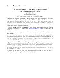 Official Documents Template Formal Invitation Letter Sample For Visa Invitation