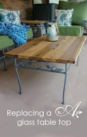 captivating glass outdoor table top replacement patio furniture idea