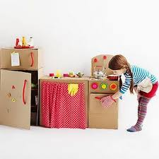 Decorating Cardboard Boxes DIY Cardboard Box Kitchen Top Easy Homemade Kid Craft Decor 27