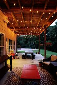 Image Exterior Easy Diy Outdoor Lighting Designs You Should Build For Your Next Project Outdoor Patio String Lights Pinterest How To Create The Perfect Outdoor Space Yard Patio Patio