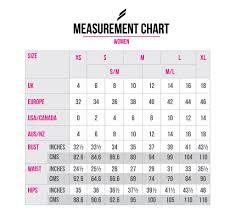 Size Chart Women Women Body Measurements Chart Bismi Margarethaydon Com
