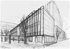 perspective drawings of buildings. Building Perspective Drawing Drawings Of Buildings And ..
