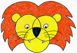 lion face drawing for kids. Plain Face Lion Face With Drawing For Kids M
