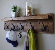 Coat And Hat Rack With Shelf Claremont Coat Rack w Floating Shelf Hanger hooks Rustic modern 57