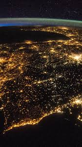 Earth at Night From Space Wallpaper ...