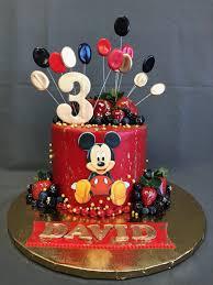 mickey mouse birthday cake skazka