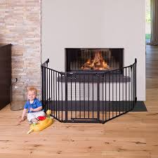 hauck fireplace guard xl charcoal