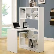 corner desk home. monarch white hollowcore corner desk beyond the rack home