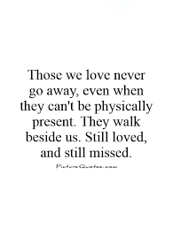 Lost Of A Loved One Quote