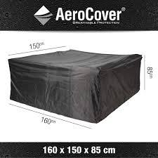 gardenset cover rectangular 160x150 anthracite m aerocover 8717591771388 garden furniture set cover rectangular 160x150x85cm