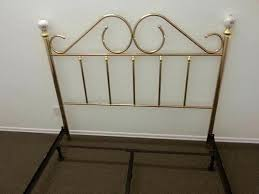 brass headboard queen. Queen Size Brass Headboard Bed Frame And Footboard S
