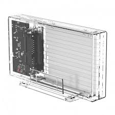 <b>ORICO</b> 2259U3 <b>Transparent Series</b> Dual-Bay Hard Drive Enclosure