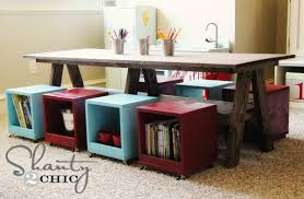 kids play room furniture. I Built A Kids Table For My Playroom, Diy, How To, Painted Furniture Play Room N