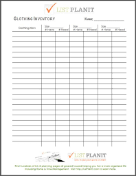 keep track of inventory kids clothing inventory free printable we dont have all