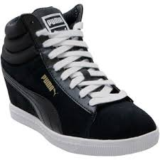 puma high tops womens. puma women\u0027s classic wedge high-top sneaker high tops womens