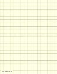 Printable Graph Paper Light Yellow Half Inch Grid