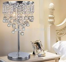 Cozy Crystal Table Lamps For Bedroom Aliexpress Com Buy New Modern Luxury Crystal  Table Lamp With