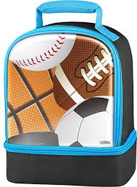 Thermos Dual Lunch Kit, All Sports: Kitchen & Dining - Amazon.com