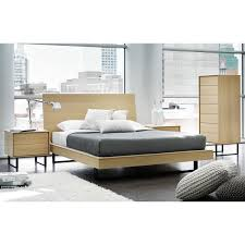 Mobican Bedroom Furniture Ophelia Queen Bed With Wood Headboard By Mobican City Schemes