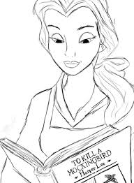 belle reading to kill a mockingbird requested by missdea this is so bad hahahaha