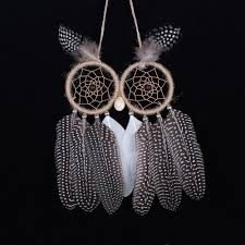 Dream Catcher Without Feathers 100 Dreamcatcher 100 New Owl Handmade Dream Catcher With Feather 74