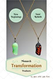 monarch transformation pendants are unique inspirational erfly jewelry that celebrate the power of making positive