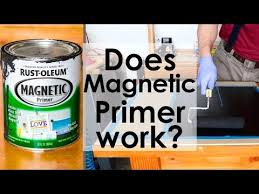 does magnetic primer by rust oleum work