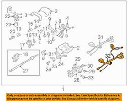 chevrolet gm oem 03 06 ssr steering column wire harness 26107238 image is loading chevrolet gm oem 03 06 ssr steering column