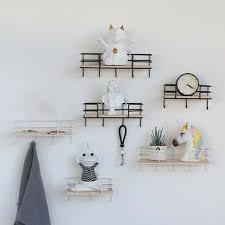shabby chic wooden vintage shelf unit