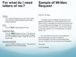 ucs letter of recommendation sample of written request dear ms alvarez i am applying to