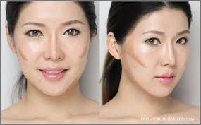 contour makeup steps blending. contouring-tutorial-for-asians-frb-step2. step 2: blend contour makeup steps blending n