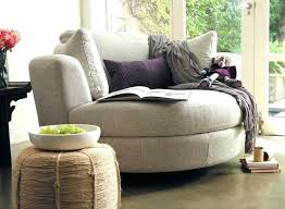 Big Cozy Chair Reading Sophisticated Sofa Gorgeous Round  Oversized Chairs Of78