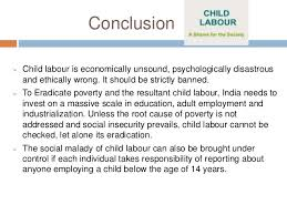 child labour essay 13 conclusion  child labour