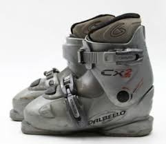 Details About Dalbello Cx2 Youth Ski Boots Size 2 5 Mondo 20 5 Used