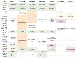 Calendar Blocking Template How To Plan Your Schedule With Time Blocking With Template
