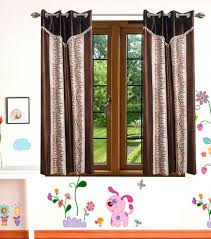 Designer Curtains Flipkart Indianonlinemall 152 4 Cm 5 Ft Polyester Window Curtain Pack Of 2